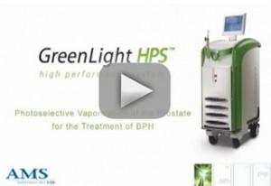 Cirujia prostata laser verde greenlight